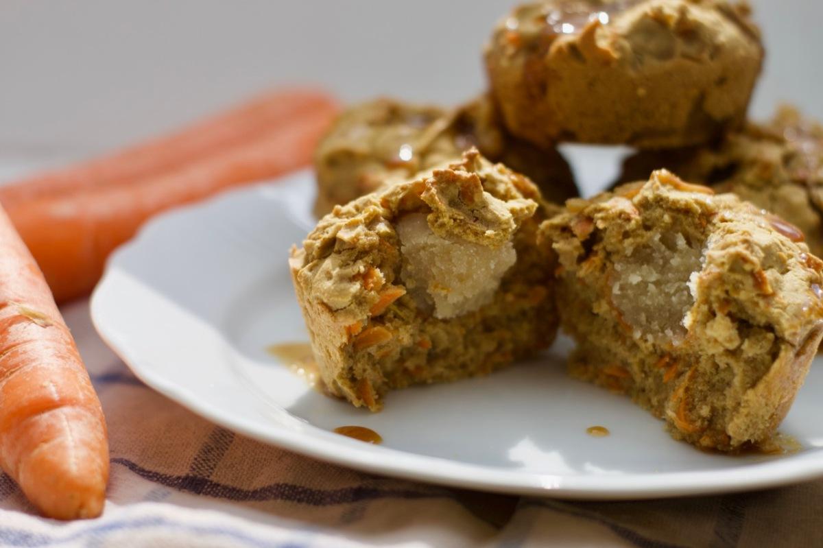Buchweizen-Karotten Muffins